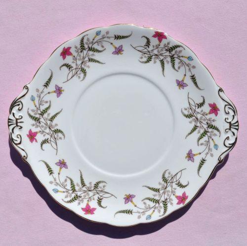 Royal Standard Fancy Free Cake Plate c.1950s