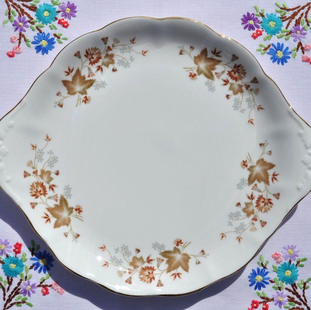 Colclough Avon Slim Handled Cake Plate c.1960+