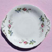 Paragon Bridal Rose China Cake Plate c.1957+