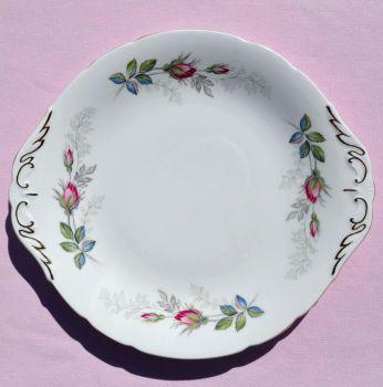 Paragon Bridal Rose China Cake Plate c.1957+
