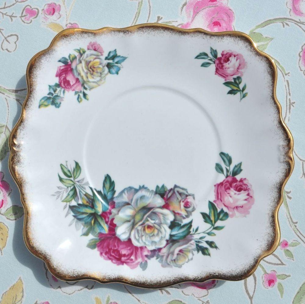 Royal Standard Irish Elegance Cake Plate c.1950s