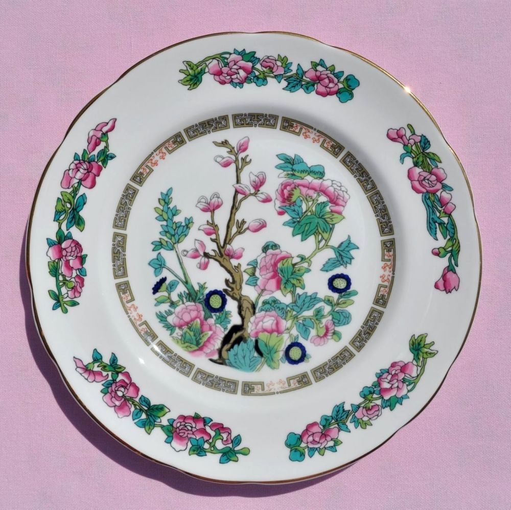Regency Indian Tree Vintage Bone China 20cm Plate