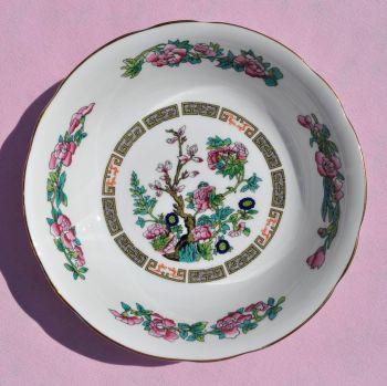 Regency Indian Tree Vintage China Dessert Dish or Cereal Bowl