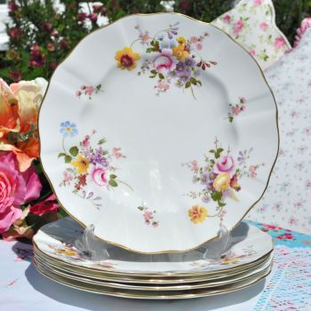 Royal Crown Derby Posies Bone China 10.5 inch Dinner Plate