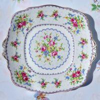 Royal Albert Petit Point Cake Plate c.1930s