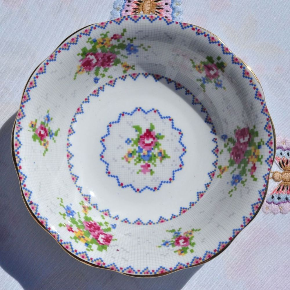 Royal Albert Petit Point Dessert Dish