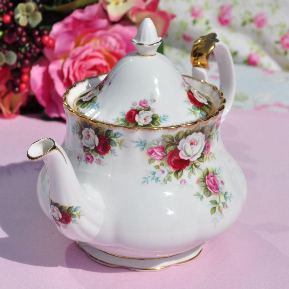 Royal Albert Celebration First Quality Vintage 1.5 Pint Teapot