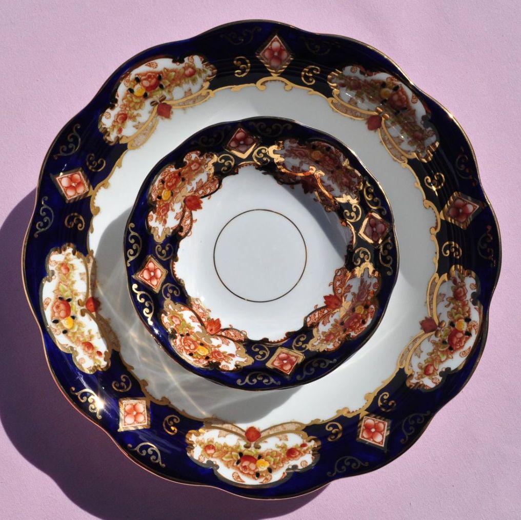 Royal Albert Heirloom Vintage China 6 Piece Dessert Set
