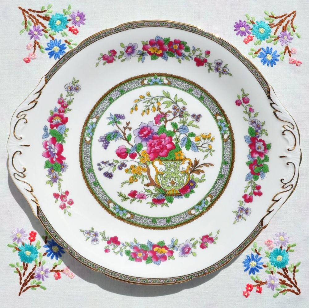 Paragon Tree of Kashmir Cake Plate c.1950's