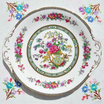 Paragon Tree of Kashmir Cake Plate c.1950's