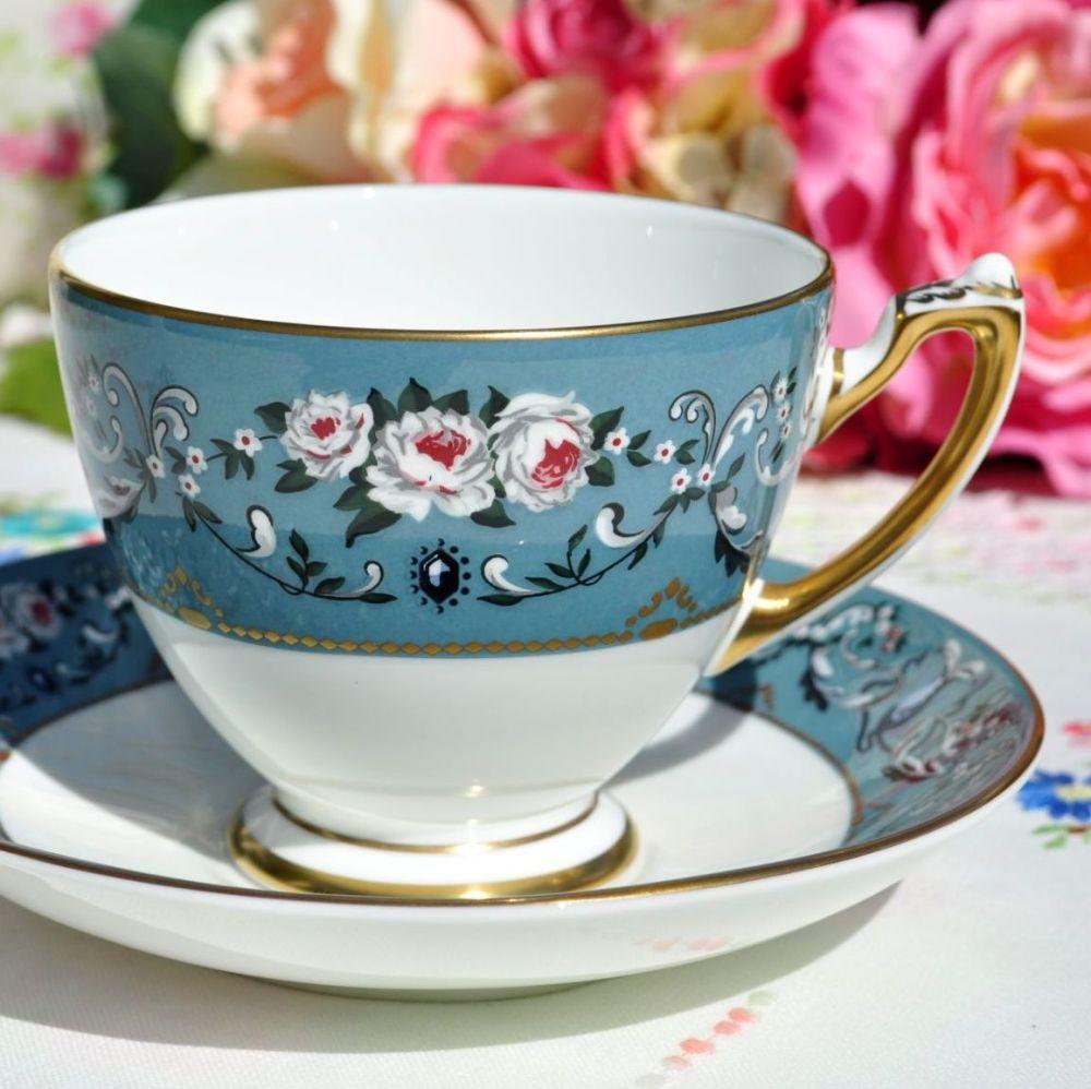 Wedgwood Ralph Lauren Annalia Teacup and Saucer