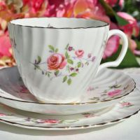 Royal Adderley Fragrance Teacup Trio c.1960's