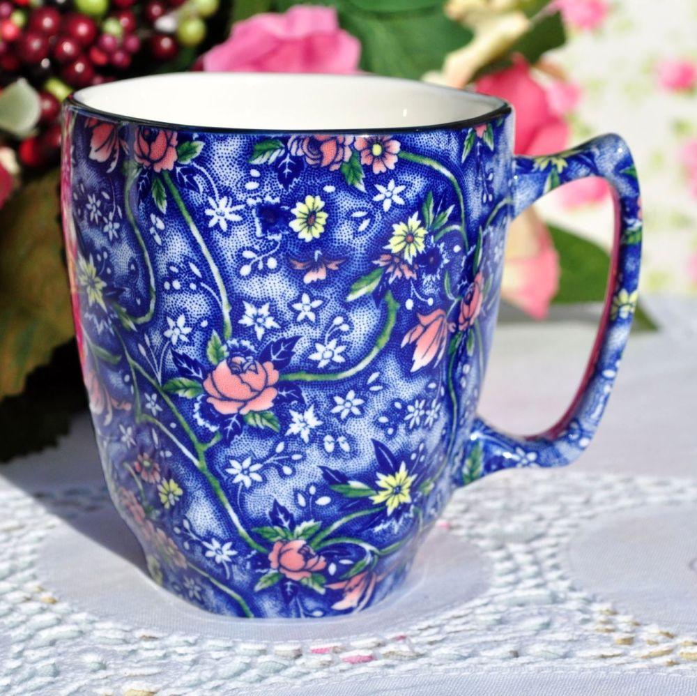 Ringtons Blue Chintz China Beverage Mug
