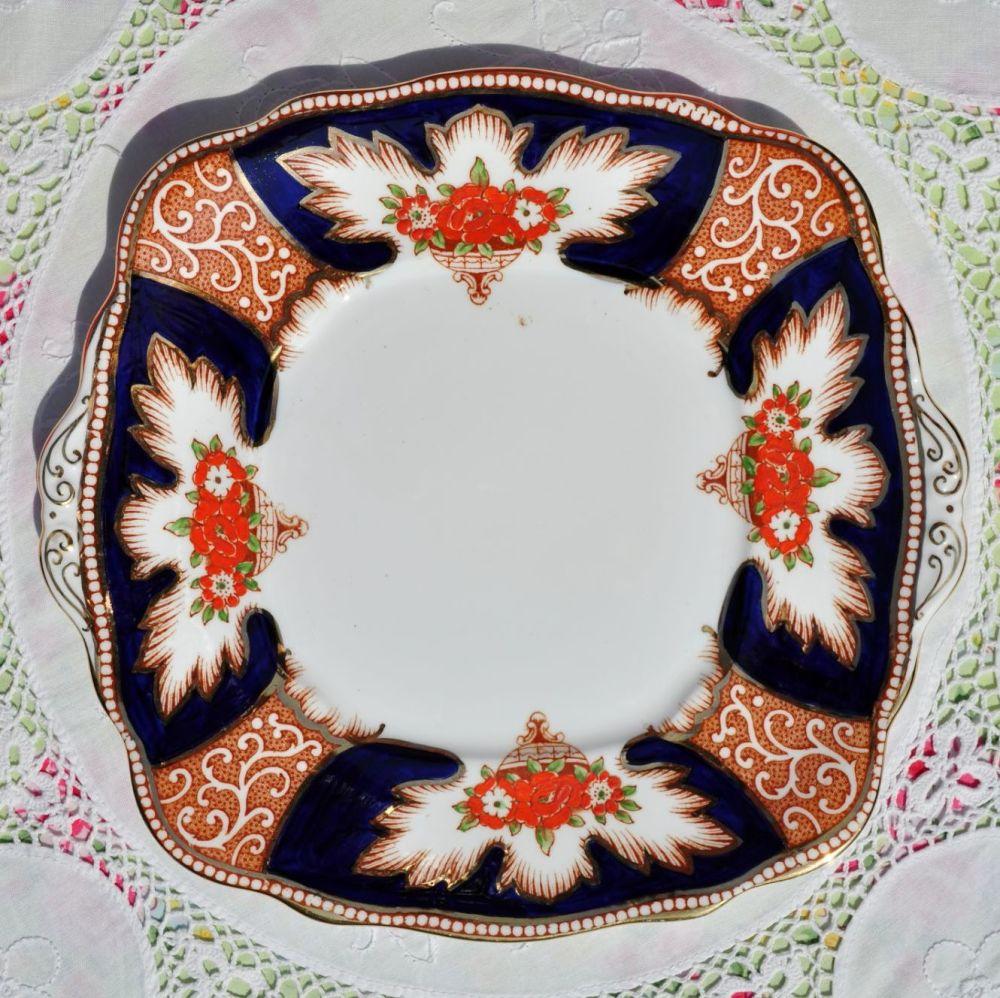 Royal Albert Crown China Royalty Vintage Cake Plate c.1932