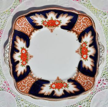 Royal Albert Crown China Royalty Vintage Cake Plate c.1932
