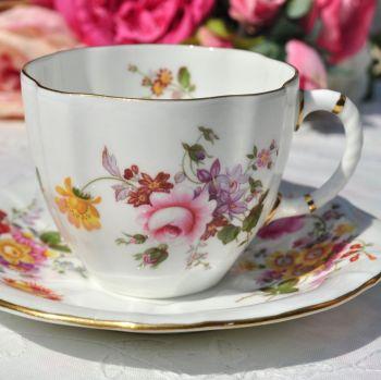 Royal Crown Derby Posies Teacup and Saucer