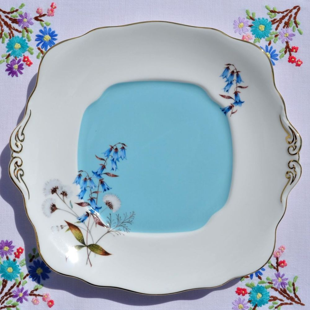 Royal Albert Festival 1950's Style Cake or Bread and Butter Plate