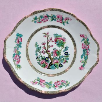 Duchess Indian Tree Pattern Oval Cake Plate c.1960's