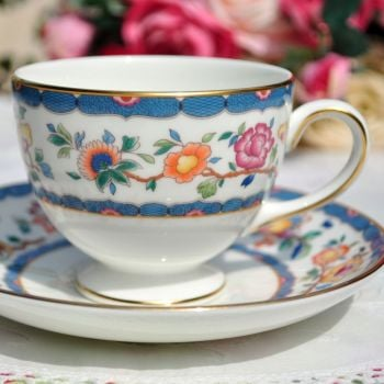 Wedgwood Harcourt Vintage China Teacup and Saucer