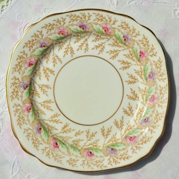 Royal Stafford Hand Painted 15.5cm Tea or Side Plate