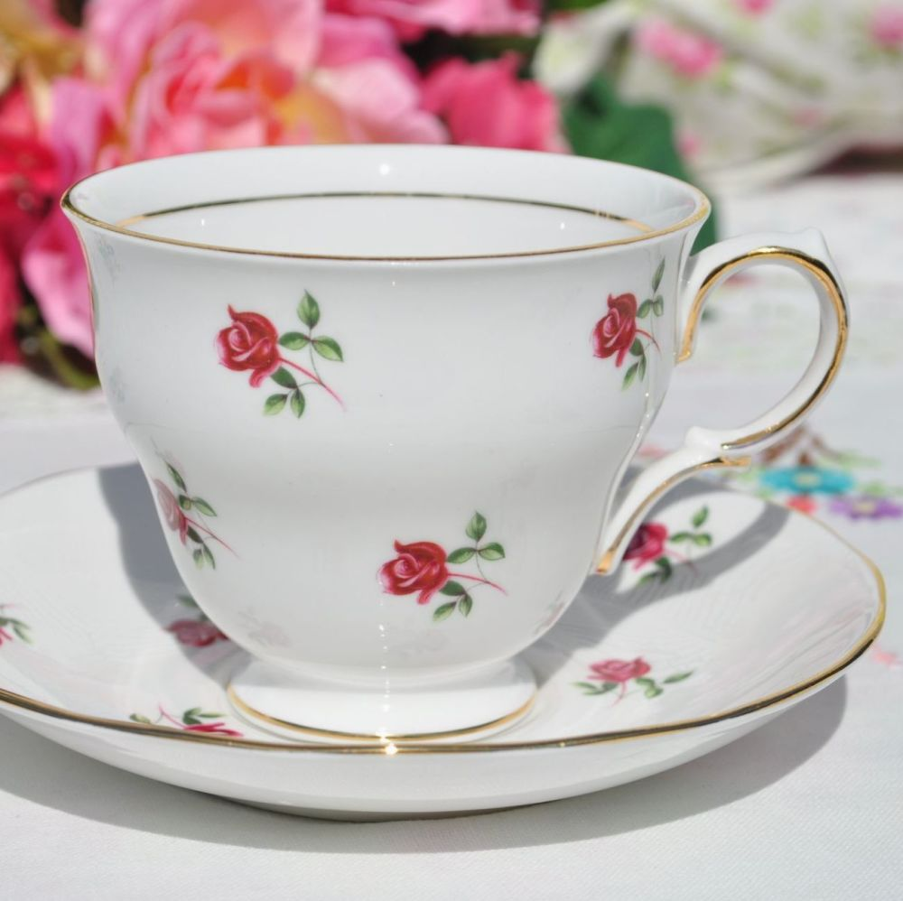 Colclough Fragrance Teacup and Saucer c.1960s