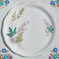 Queen Anne Louise Round Cake Plate c.1960s