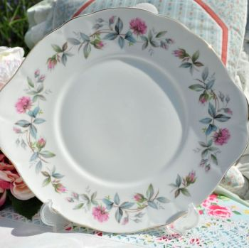 Duchess Bramble Rose Cake Plate c.1970's