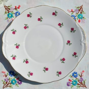 Colclough Fragrance China Cake Plate c.1960s