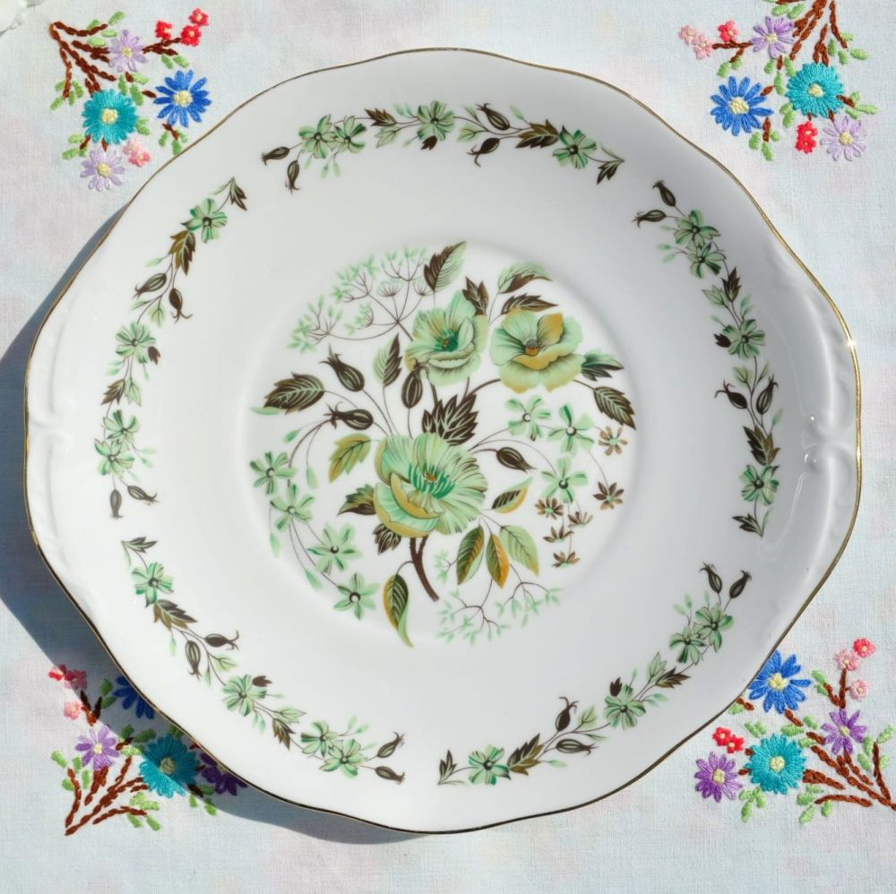 Colclough Sedgley Pattern Vintage Cake Plate