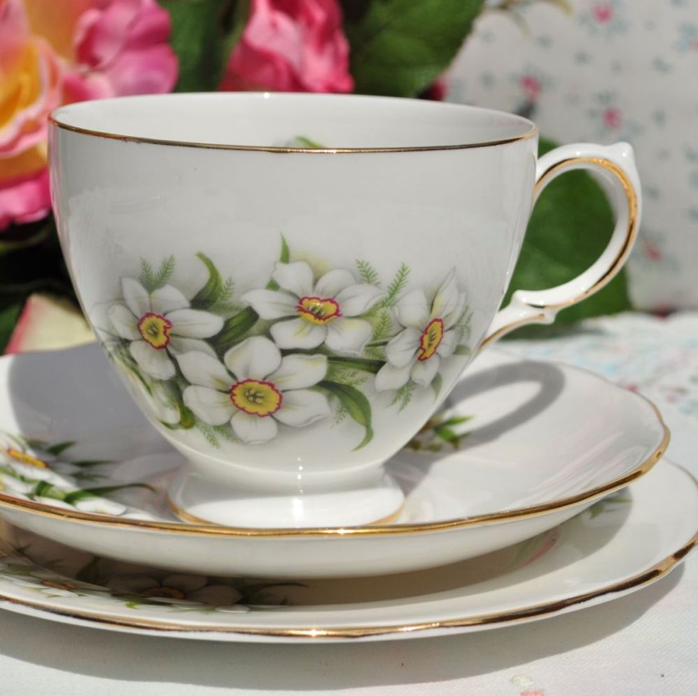 Crown Royal Bridal Flower Teacup Trio