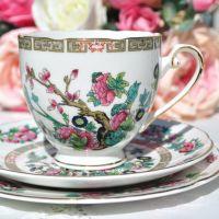 Royal Grafton Indian Tree Tea Cup Trio c.1950s