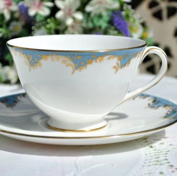 Royal Doulton Marlborough Teacup and Saucer c.1970s