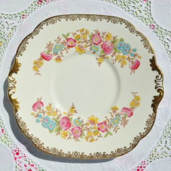 Collingwood Hand Painted Cake Plate c.1937