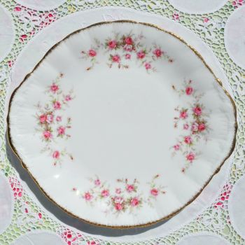 Paragon Victoriana Rose Cake Plate c.1966+