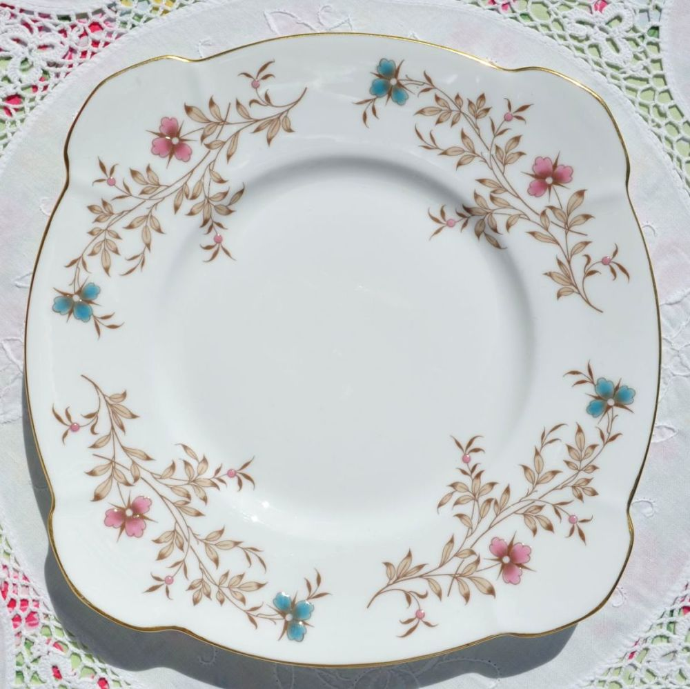 Minton Spring Melody Enamelled Cake Plate