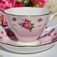 Royal Albert New Country Roses Teacup and Saucer