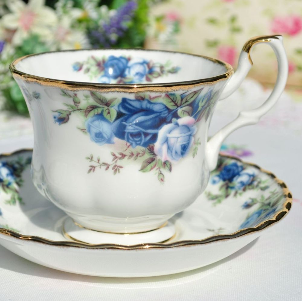 Royal Albert Moonlight Rose Teacup and Saucer