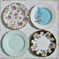 Royal Albert 100 Years Collection Tea Plates