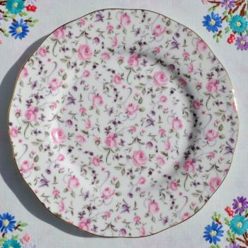 Royal Albert Rose Confetti 20cm Plate