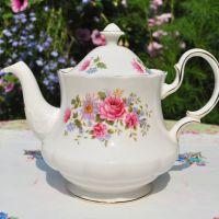 Queen Anne Serenade Floral 2 Pint Teapot