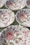 Johnson Bros. Rose Chintz Soup/Cereal/Dessert Dishes x 6 New