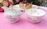 Royal Imperial Vintage Bone China Milk Jug and Sugar Bowl