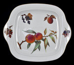 Royal Worcester Vintage Evesham Gold Square Bread and Butter Plate