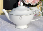 Wedgwood Barbara Barry Embrace White Bone China Teapot