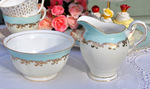 Royal Tuscan Fine Bone China Cream Jug and Sugar Bowl