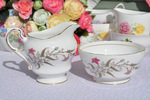 Paragon 'Fancy Free' Vintage China Milk Jug and Sugar Bowl