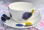 Ikat Designed by Vera Wang for Wedgwood Teacup and Saucer