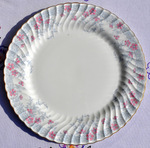 Minton 'Garden Pinks' Vintage China Large Cake Plate or Platter c.1948