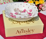 Aynsley 'Elizabeth Rose' Boxed Strawberry Serving Display Dish