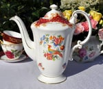 Paragon 'Rockingham' Vintage China Coffee Pot